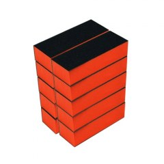 Buffer portocaliu - set 10 buc.