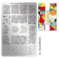 Matrita pentru stampila nr 48 - Colourbook