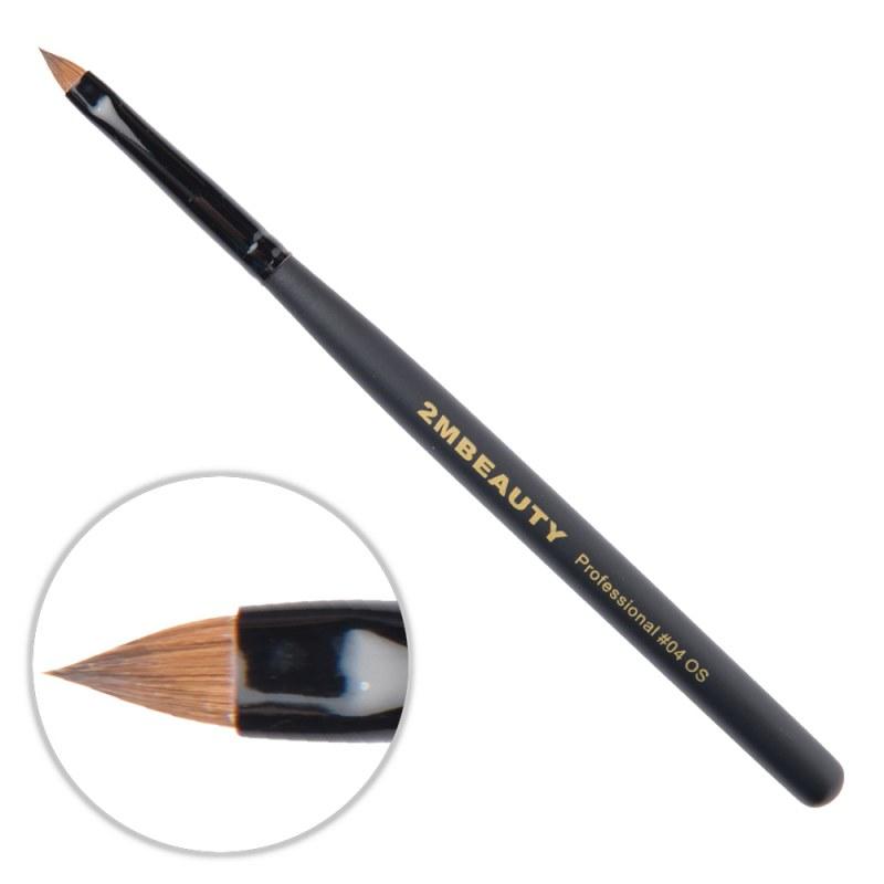 Pensula Acryl 2M Black Beauty Ascutit Nr. 04OS thumbnail