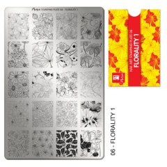 Matrita pentru stampila nr 6 - Imprimeuri florale