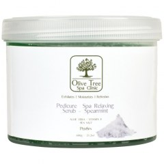 Olive Tree Spa Clinic Pedicure Spa Relaxing Scrub - 600gr