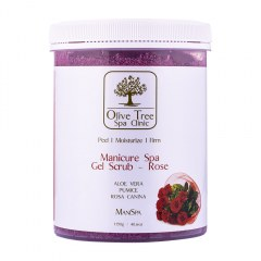 Olive Tree SC Manicure Spa Gel Scrub Rose - 1150gr