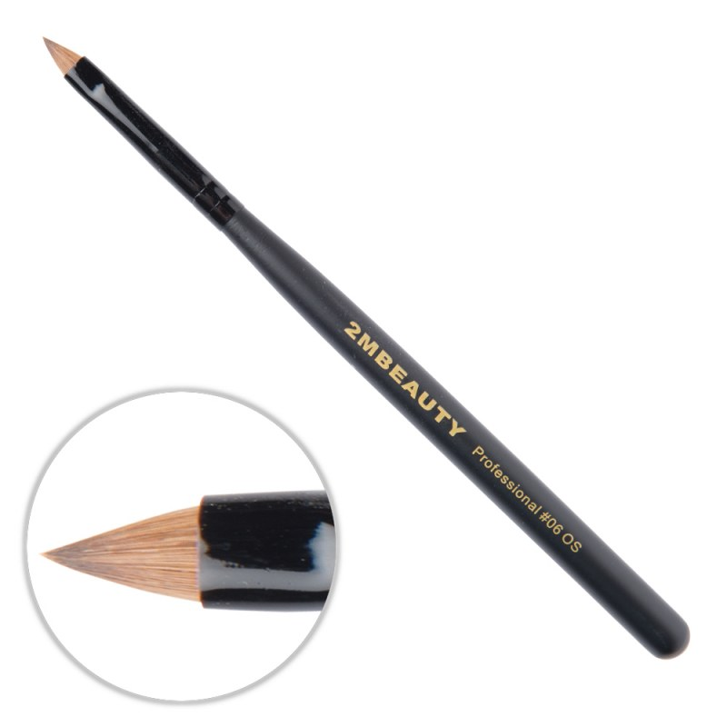 Pensula Acryl 2M Black Beauty Ascutit Nr. 06OS thumbnail