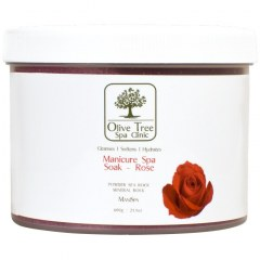 Olive Tree Spa Clinic Manicure Spa Soak Rose - 600gr