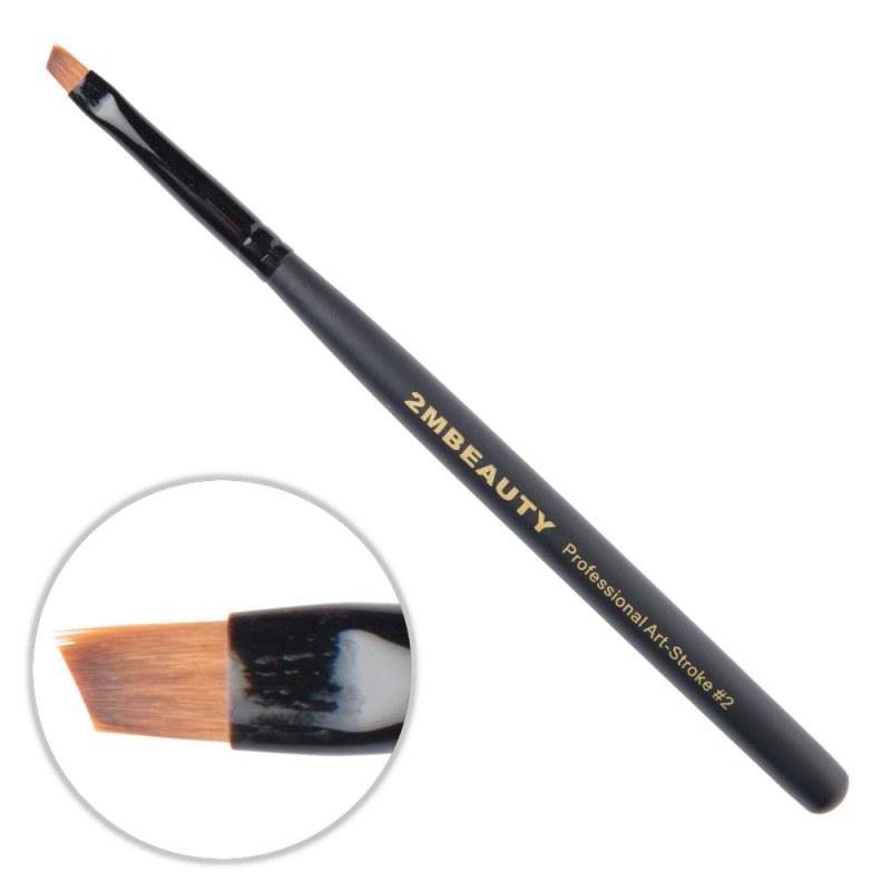 Pensula nail art 2M Black Beauty OneStroke nr. 02 thumbnail
