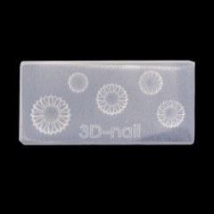 Mold 3D pentru gel si acryl Nr.03