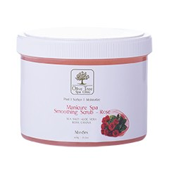 Olive Tree SC Manicure Spa Smoothing Scrub Rose - 600gr