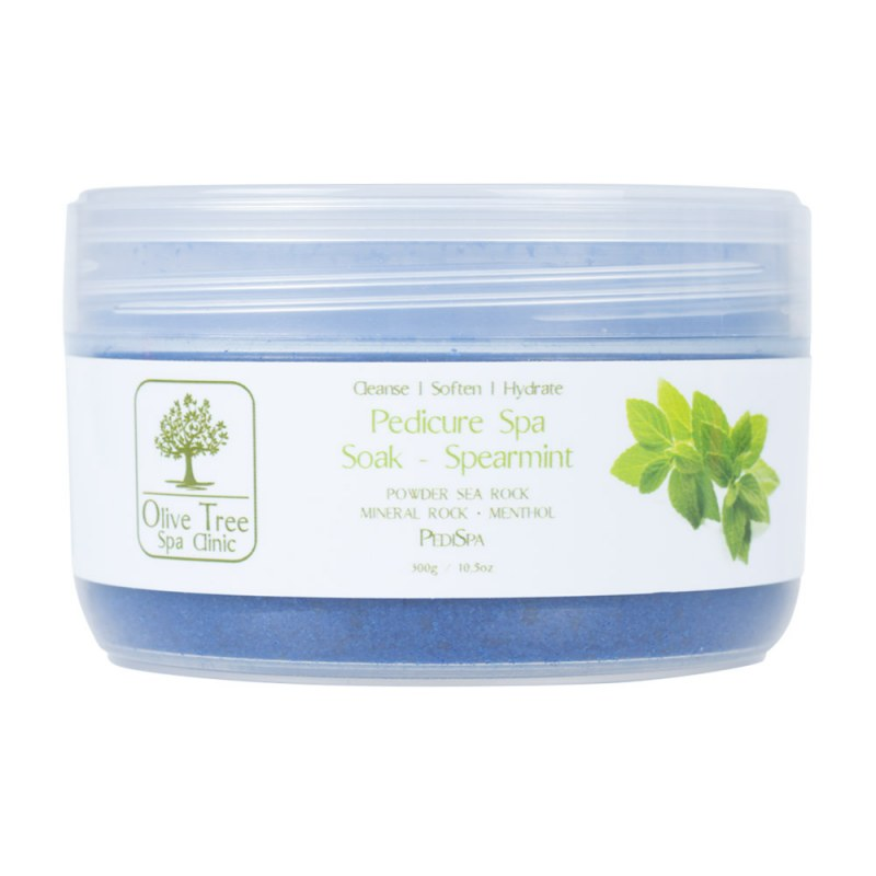 Olive Tree Spa Clinic Pedicure Spa Soak Spearmint