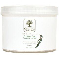 Olive Tree Spa Clinic Pedicure Spa Creamy Scrub - 500gr
