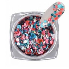 Polkadot Mix Glitter 2M - Nr. 08