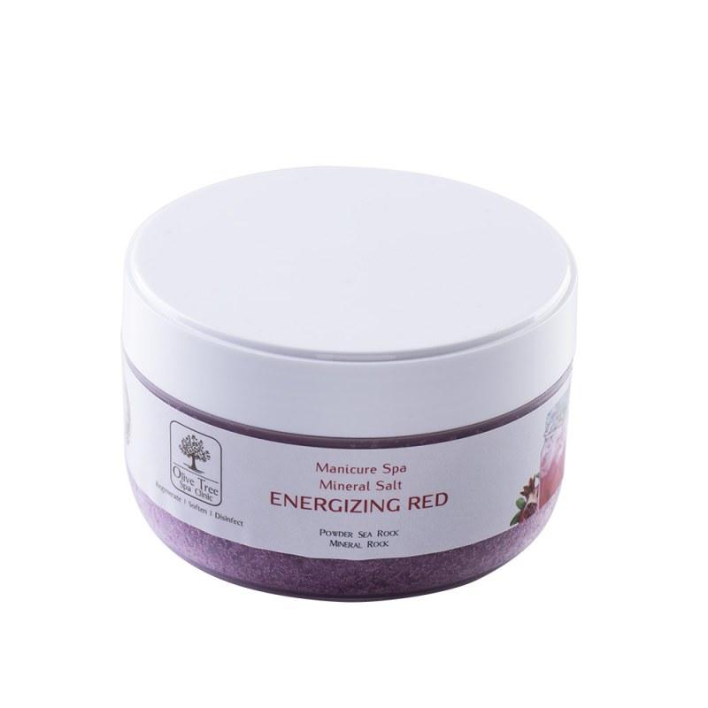Manicure Spa Mineral Salt Energizing Red - 200gr