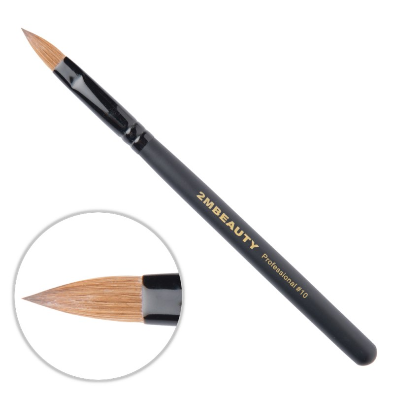 Pensula Acryl 2M Black Beauty Migdale Nr. 10 thumbnail