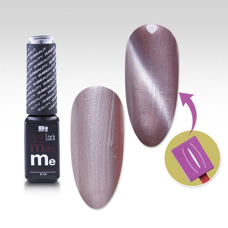 Oja Semipermanenta Gellack 2m Magnetic Mini Me Nr. 01 - 5ml