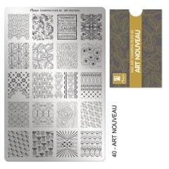 Matrita pentru stampila nr 40 - Art Nouveau