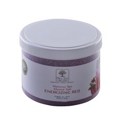 Manicure Spa Mineral Salt Energizing Red - 500gr