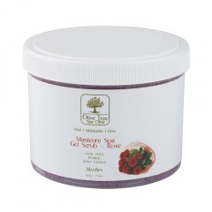 Olive Tree SC Manicure Spa Gel Scrub Rose - 500gr