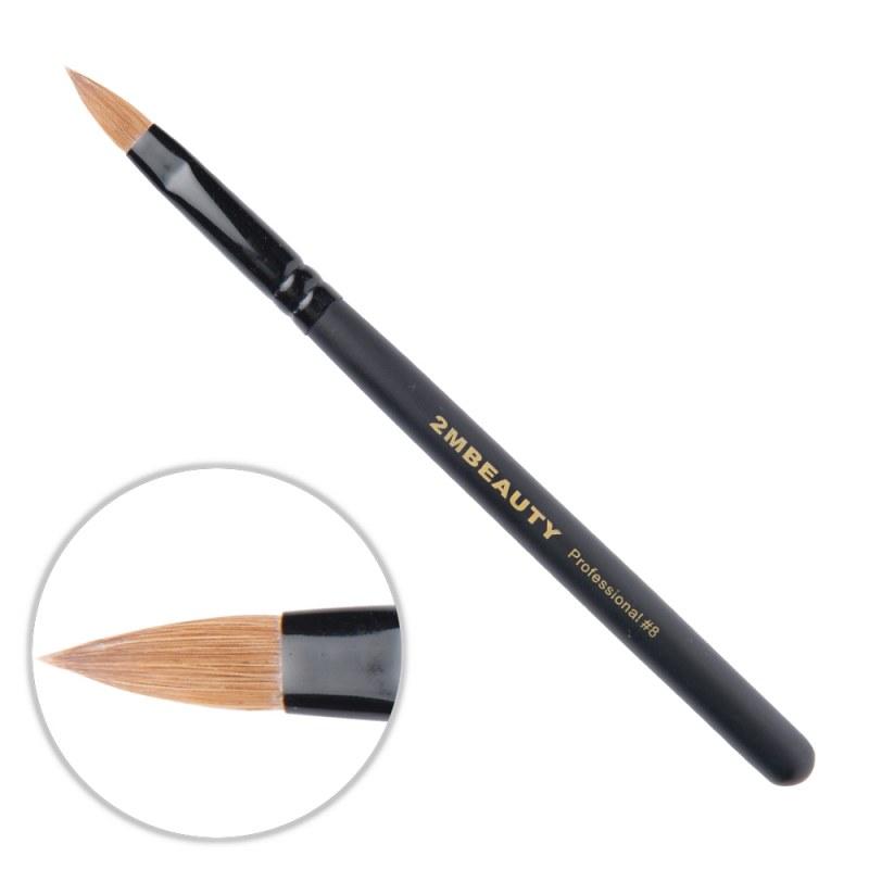 Pensula Acryl 2M Black Beauty Migdale Nr. 08 thumbnail