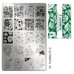 Matrita pentru stampila nr 10 - Imprimeuri florale 2