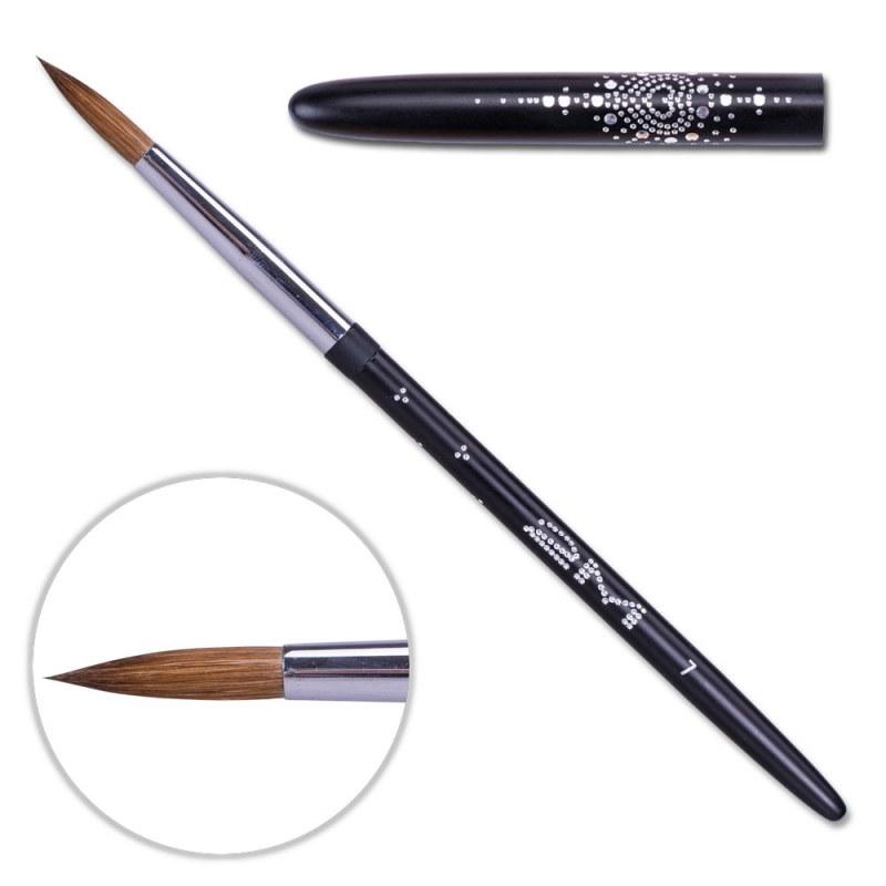 Pensula Acryl 2m Black - Rotund Nr. 7