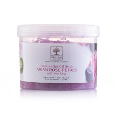 Pedicure Spa Gel Scrub Asian Rose Petal - 400gr
