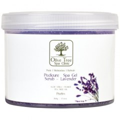 Olive Tree Spa Clinic Pedicure Spa Gel Scrub Lavender - 500gr