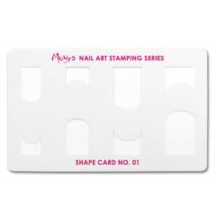 Card modelator pt stampila Moyra nr. 1
