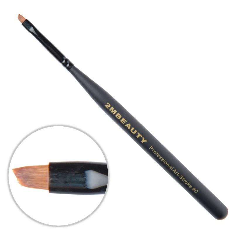 Pensula nail art 2M Black Beauty OneStroke nr. 0 thumbnail