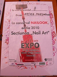 Locul II concurs NailLook - categoria Nail Art Fantasy
